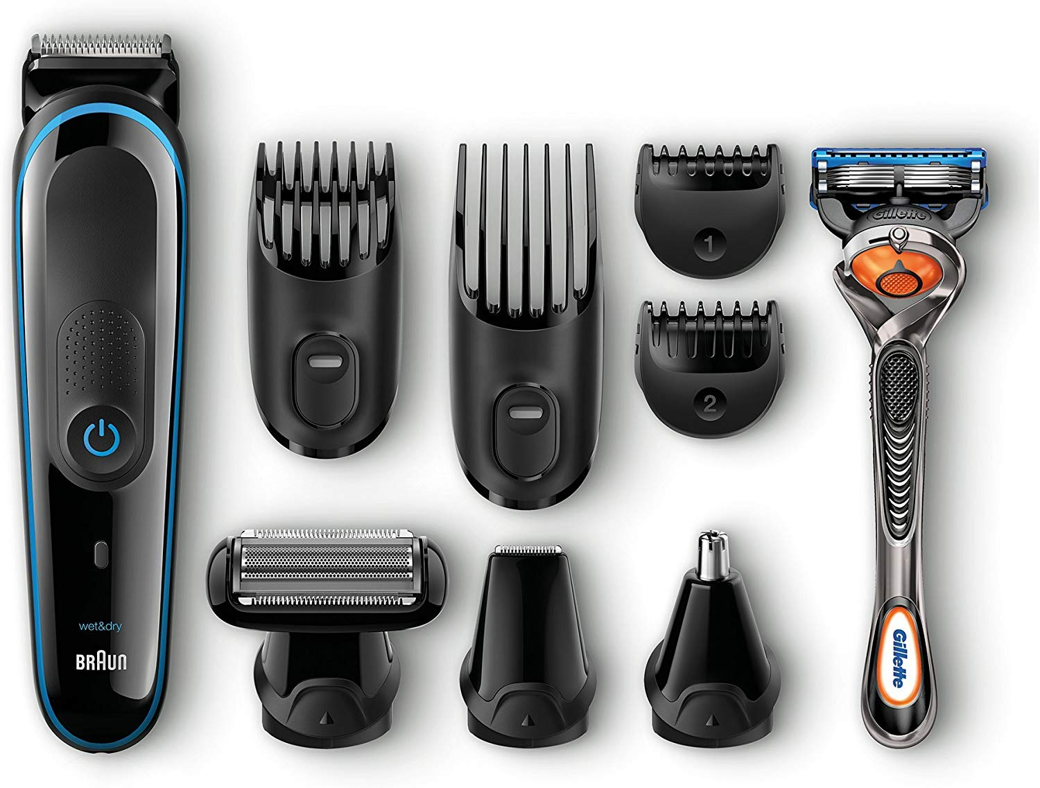 Braun Multi Grooming Kit MGK3020 - 6-in-one face and head trimming kit