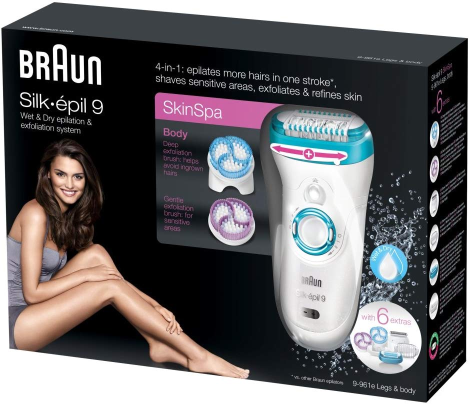 Braun Epilator SE9-9961 Leg,Body & Face