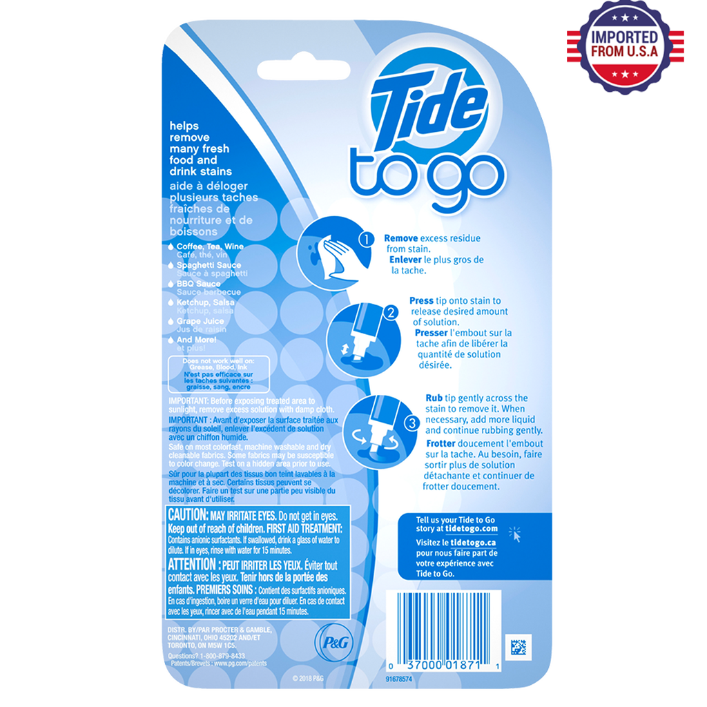 Tide to Go Instant Stain Remover, 30 ml