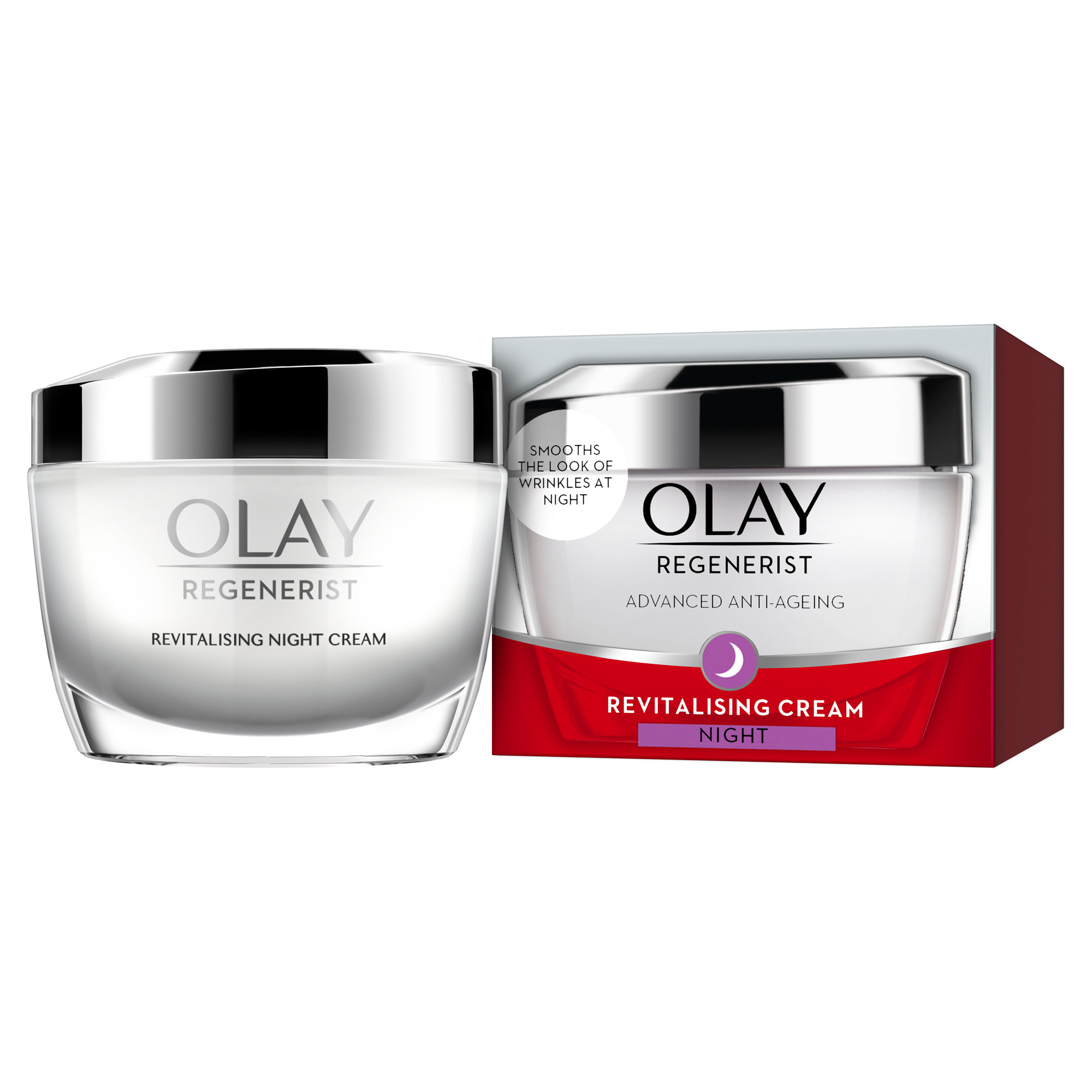 Olay Night Cream: Regenerist