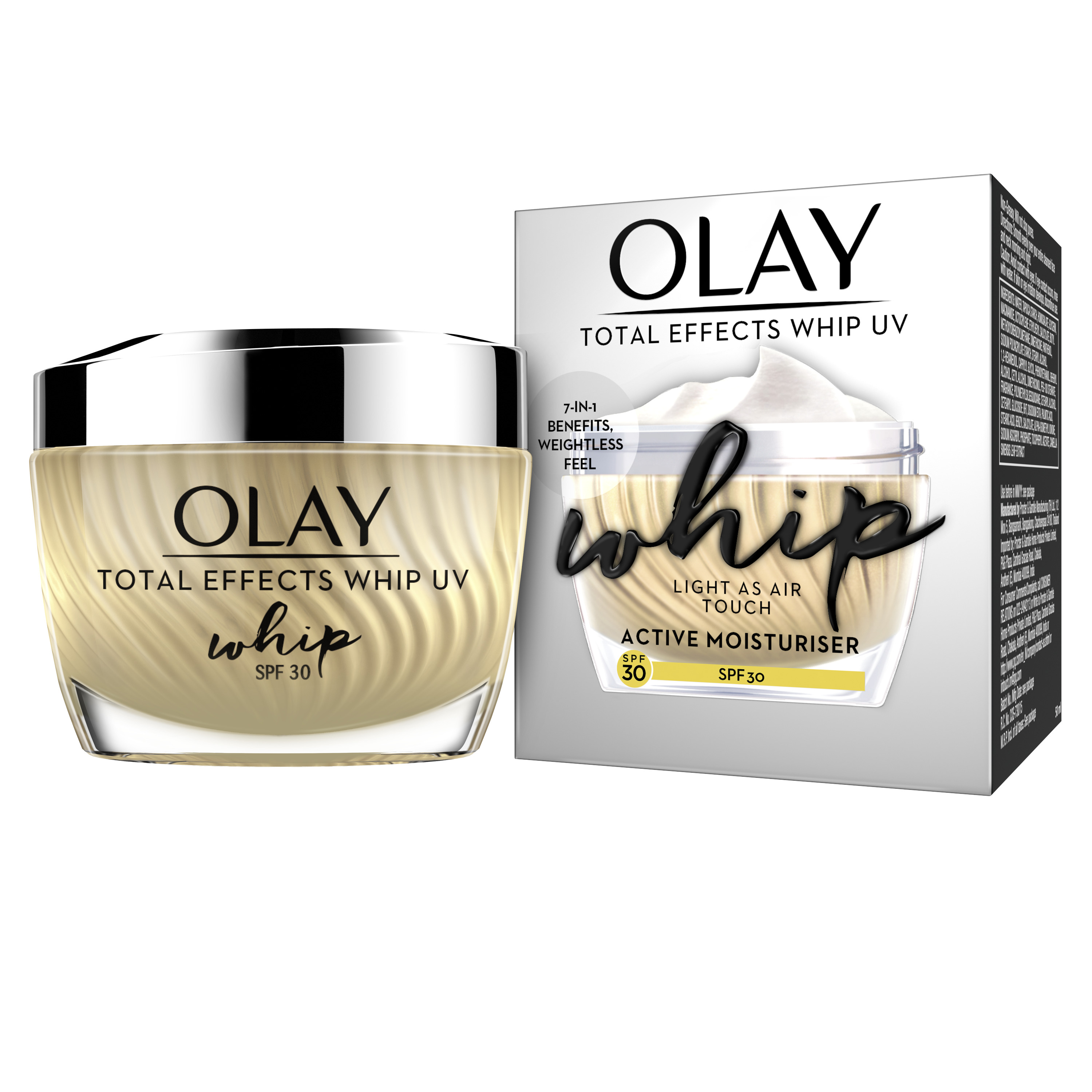 Olay Total Effects Whips SPF30