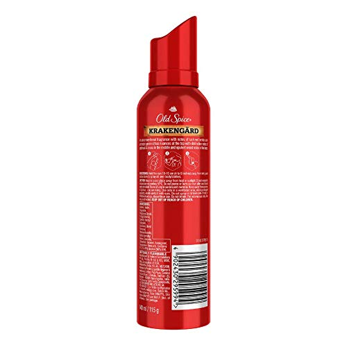 Old Spice Krakengard No Gas Deodorant Body Spray Perfume, 140 ml
