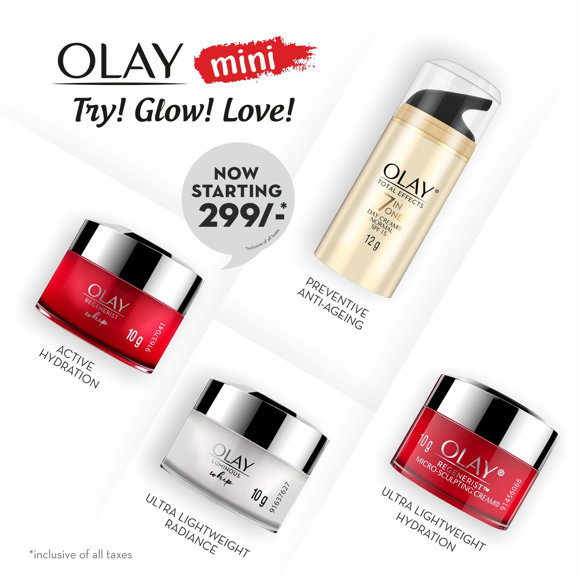 Olay Mini Cream: Regenerist Microsculpting