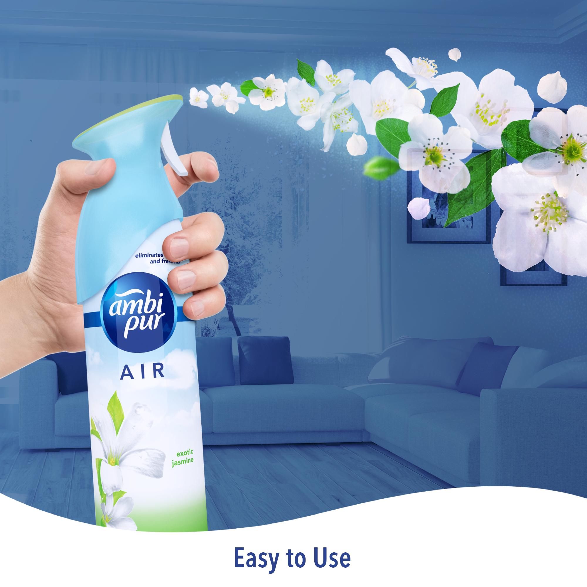 Ambi Pur Air Effect Exotic and Jasmine Air Freshener - 275 g