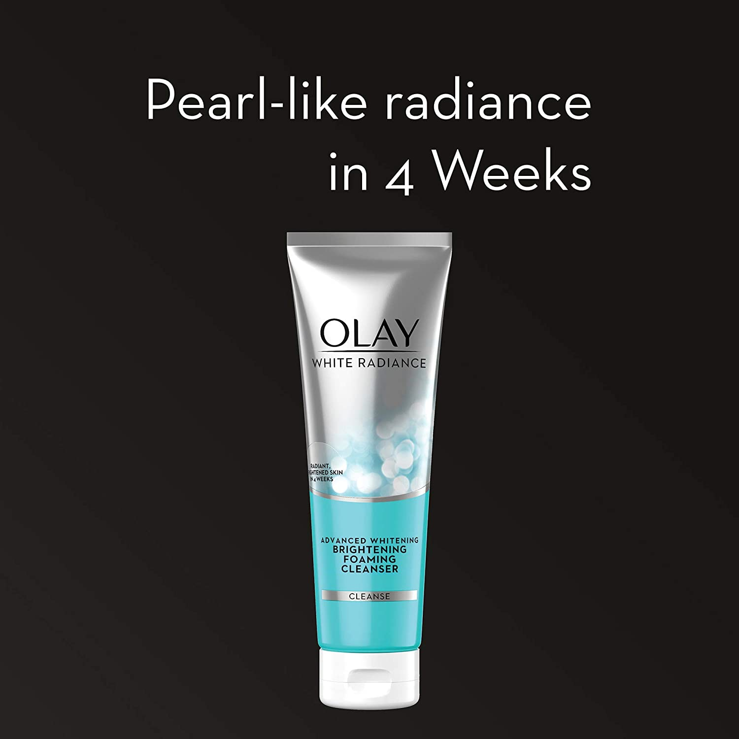 Olay Face Wash White Radiance Brightening Foaming Cleanser, 100g