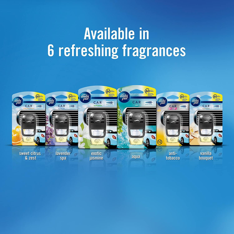 Ambi Pur Aqua Car Air Freshener Refill (7.5 ml)