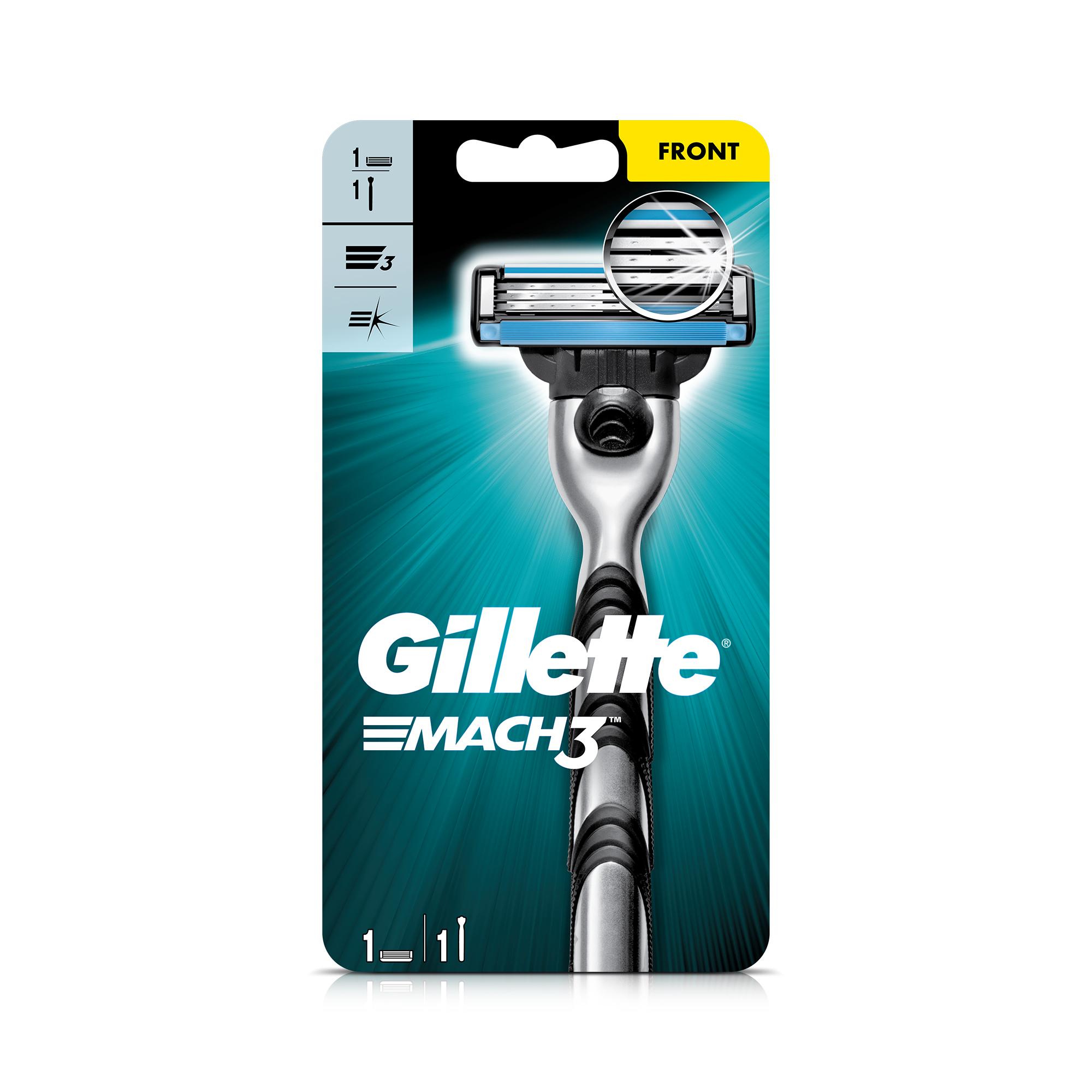 Gillette- Mach 3 Razor