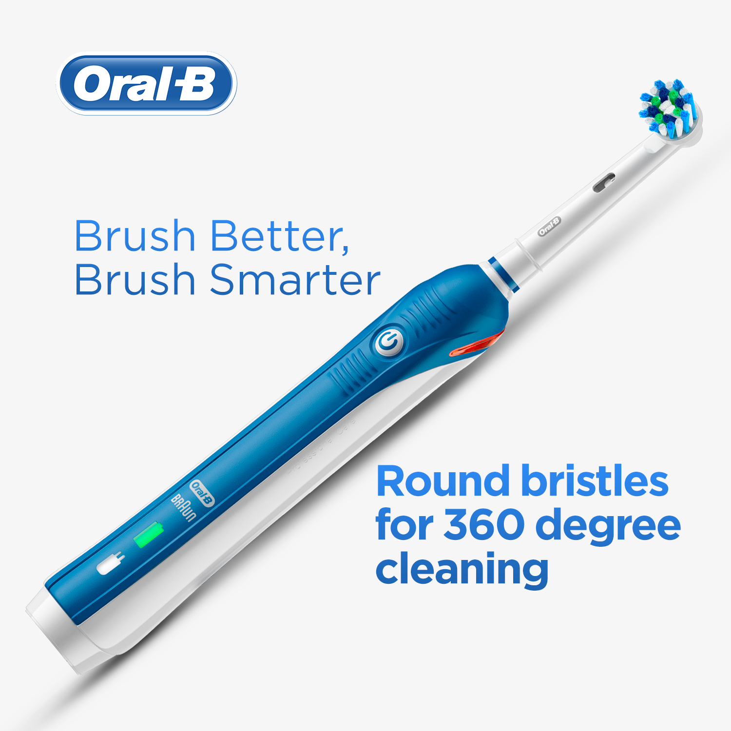 Pro 2 Electric Toothbrush with Cross Action Bristles_Rechargeable