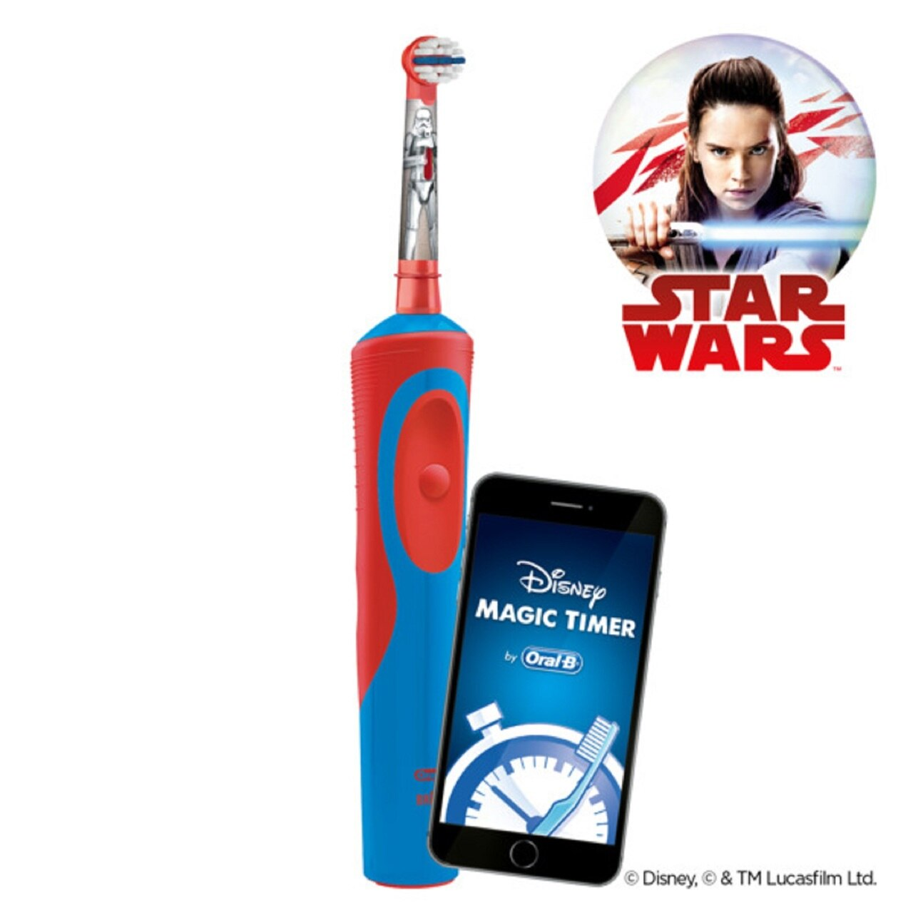 Oral-B Kids Star Wars Electric Toothbrush_Rechargeable
