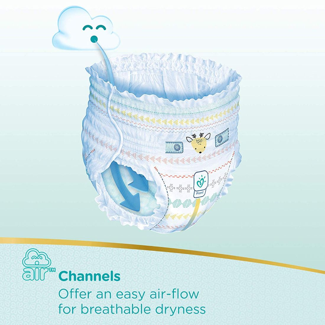 Pampers Premium Care Pants Diapers, Extra Large (19 Count)