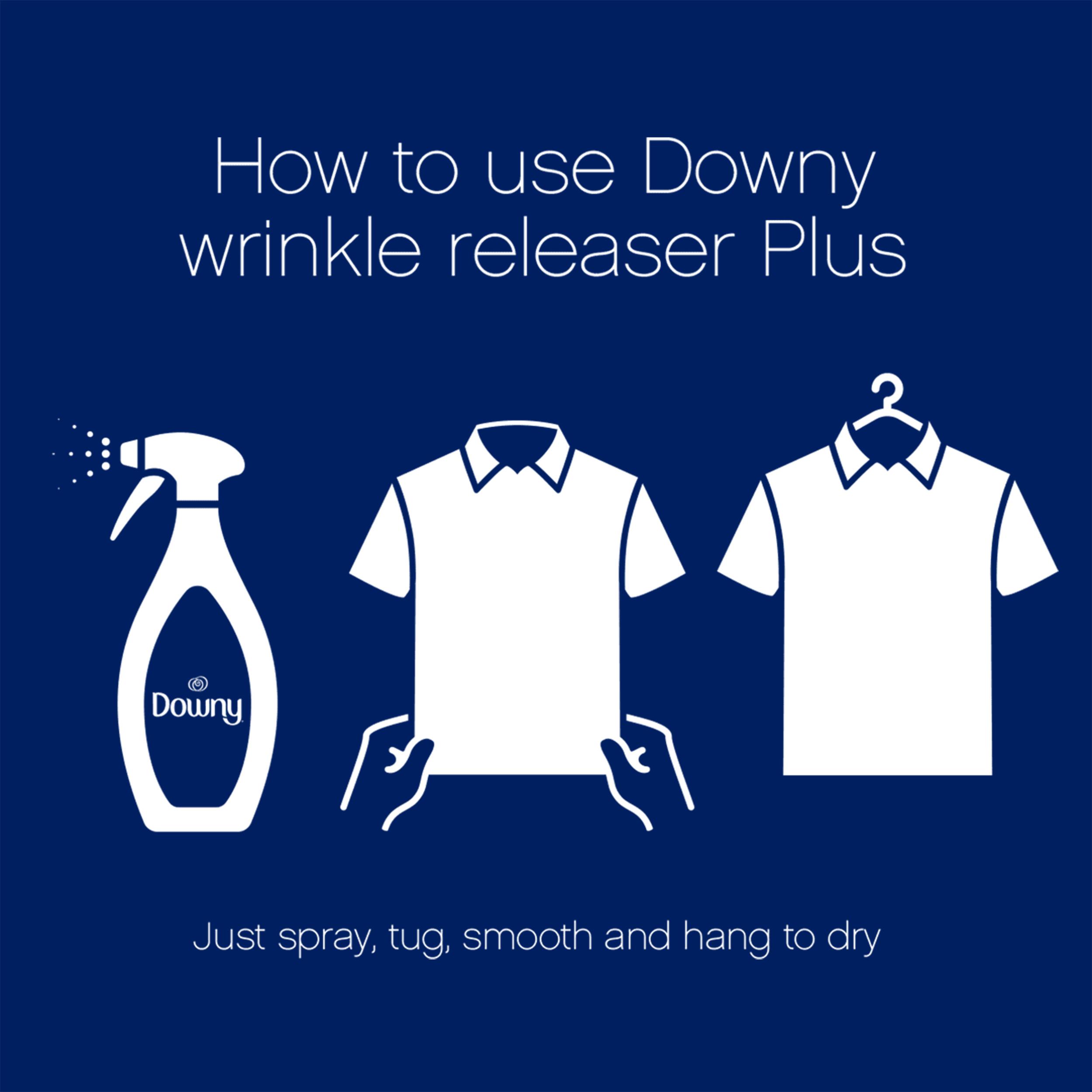 Downy Wrinkle Releaser Fabric Refresher, Crisp Linen Scent, 16.9 fl oz