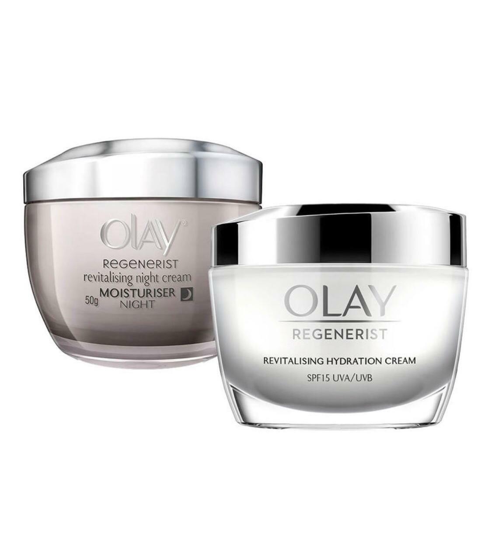 Olay Regenerist Day & Night Cream  For Collagen Boost