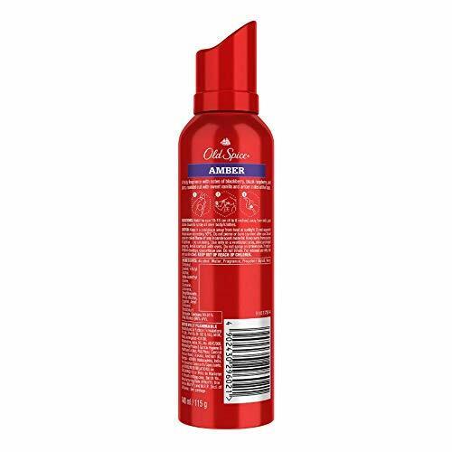 Old Spice- Amber No Gas Deodorant Body Spray Perfume, 140 ml
