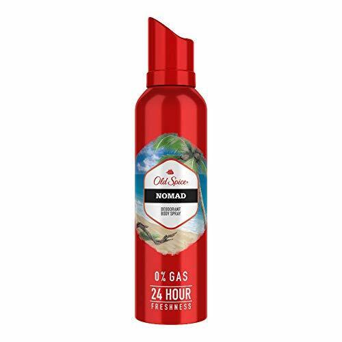 Old Spice- Nomad No Gas Deodorant Body Spray Perfume, 140 ml
