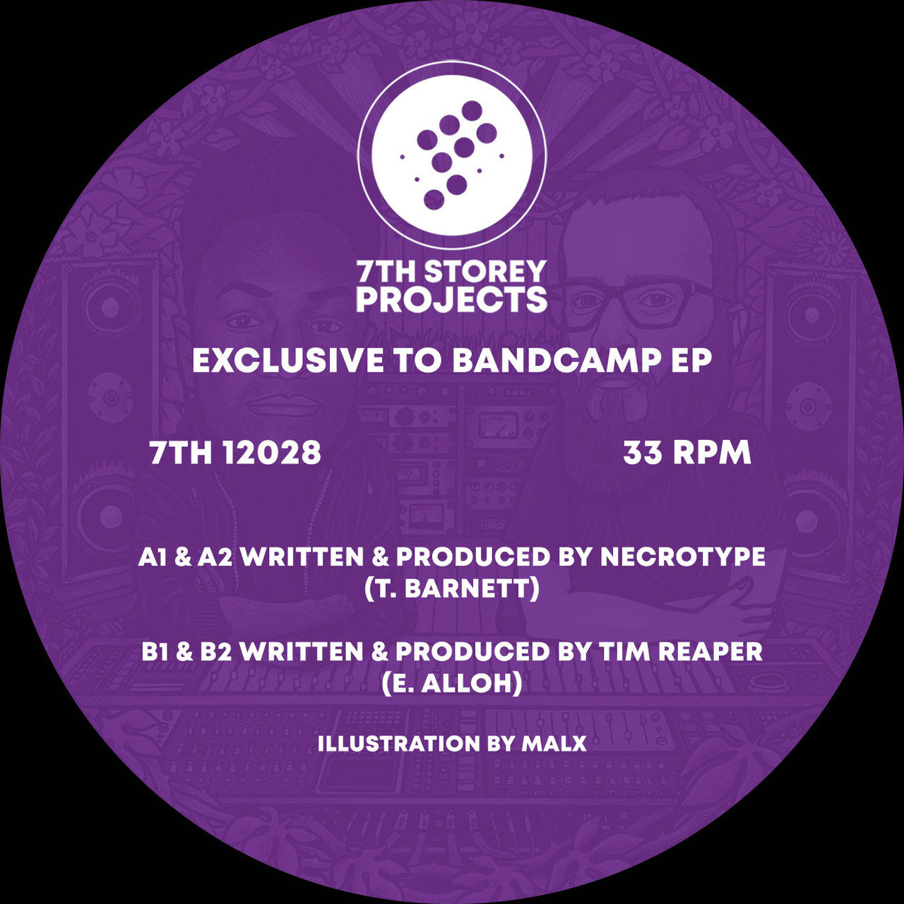 Necrotype & Tim Reaper - Exclusive To Bandcamp E P - 12