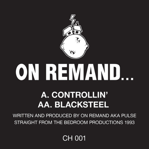 "On Remand - Controllin' / Black Steel - 12"" Vinyl"