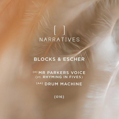 "Blocks & Escher - Mr Parkers Voice / Drum Machine - 12"" Vinyl"