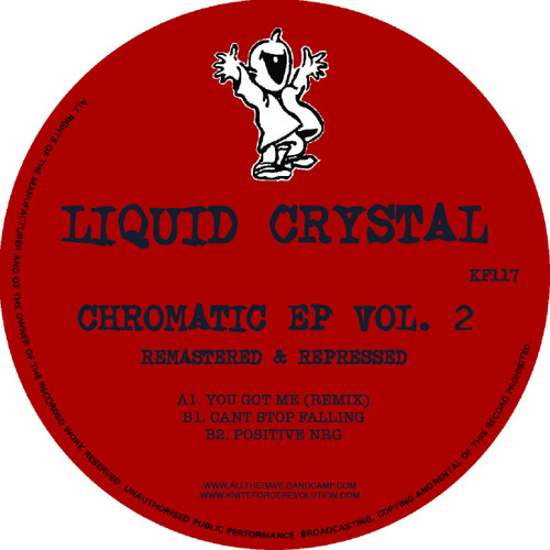 "Liquid Crystal - Chromatic EP Vol​.​2 - 12"" Vinyl"