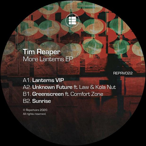 "Tim Reaper - More Lanterns EP - 12"" Vinyl"