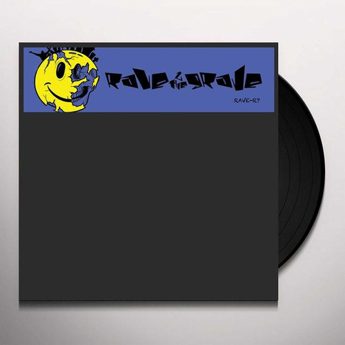 """Rave 2 The Grave - Pacific State / Adrenaline - 12"""" Vinyl"""