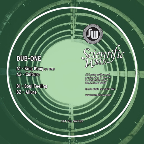 "SW 029 - Dub-One - King Kong EP - 12"" Vinyl"