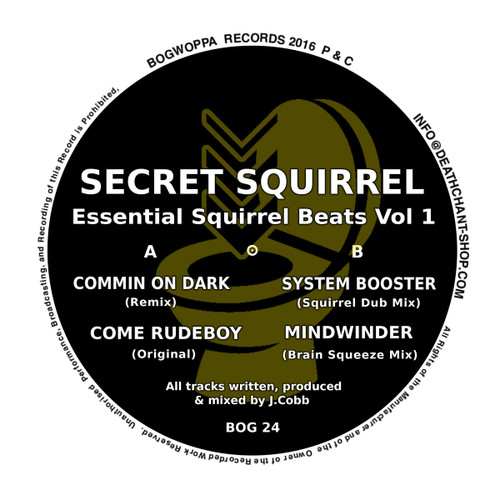"Secret Squirrel - Essential Squirrel Beats Vol 1 - 12"" Vinyl"