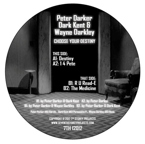 Peter Darker (Kid Lib), Wayne Darkley & Dark Kent - Choose Your Destiny (Digital)