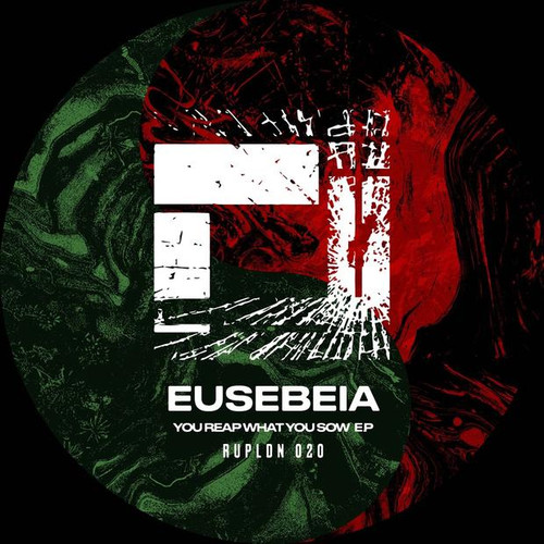 """Eusebeia - You Reap What You Sow EP (w/ Gold Foil Rupture Sleeves) - 12"""" Vinyl"""