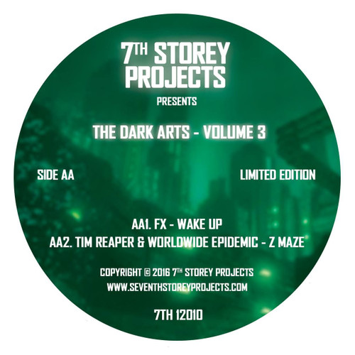 "The Dark Arts Volume 3 - 7TH 12010 - Limited Edition 12"" Green Translucent Vinyl"