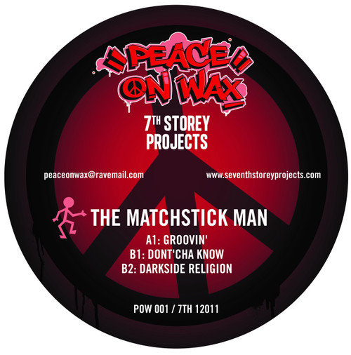 """Fozbee & Cooz / The Matchstick Man - 7 Track EP Limited Edition 2x 12"""" Vinyl"""