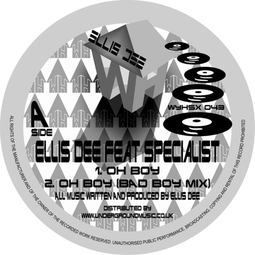 "Ellis D & The Specialist - Nice Up Ya Scene - 12"" Vinyl"