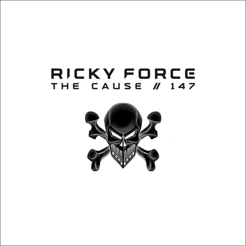 "Ricky Force - The Cause/147 - Skeleton Recordings Limited White 10"" Vinyl"
