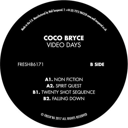 "Coco Bryce - Video Days - Fresh 86 - 12"" Vinyl"