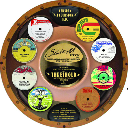 """Threshold - Version Excursion EP (12"""" Picture Disc in Shrinkwrap Ltd Edition)"""