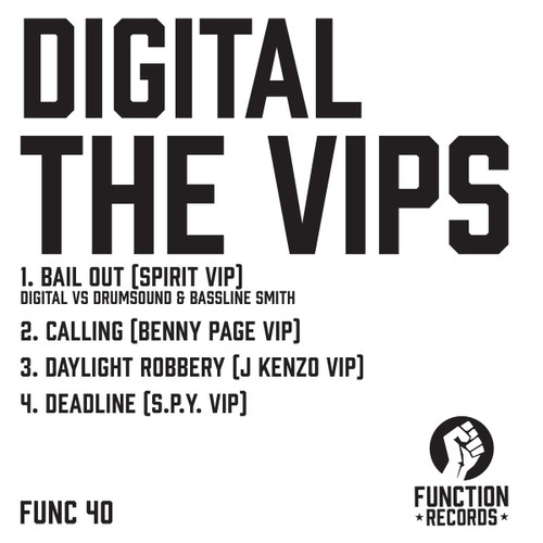 "Digital - The VIP's - Limited Edition 12"" Vinyl"