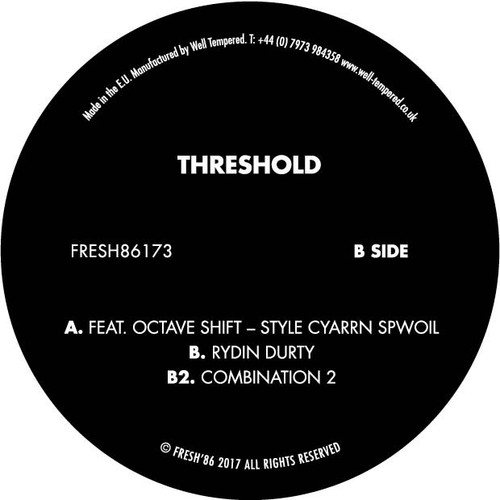 "Threshold - Style Cyarrn Spwoil - 12"" Vinyl"
