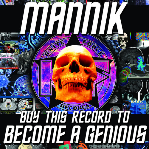 """Mannik - Buy This Record To Become A Genious - KF73 - 12"""" Vinyl"""