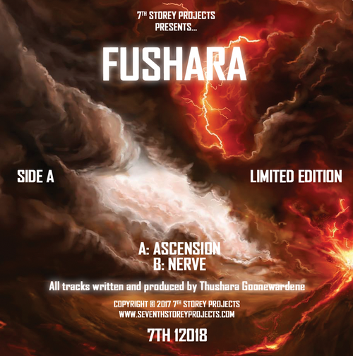 "Fushara - Ascension/Nerve - 7th Storey Projects - 7TH 12018 - 12"" Vinyl"
