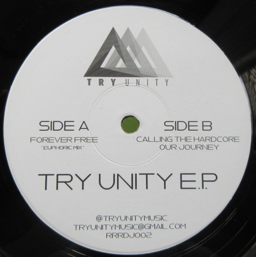 """Try Unity - Try Unity EP - Limited 12"""" Vinyl"""