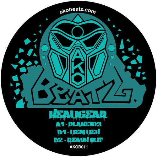 "Headgear - Planet03 EP - AKO Beatz - 12"" Vinyl"