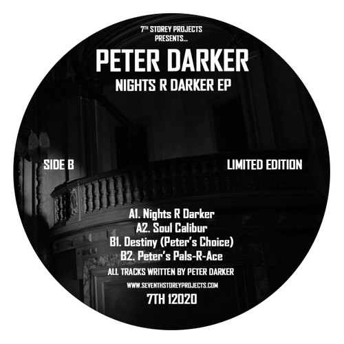 "Peter Darker - Nights R Darker EP - 7TH 12020 - Limited 12"" Vinyl"