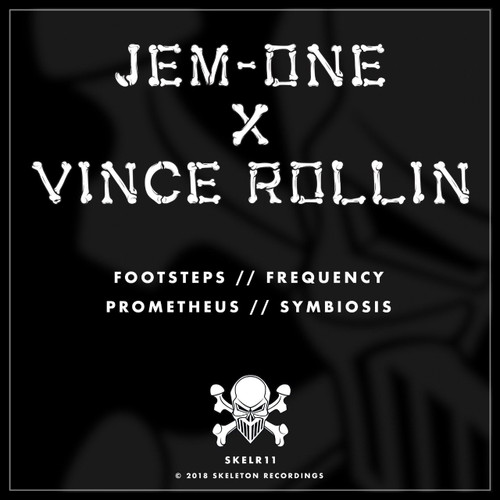 "Jem-One  x  Vince Rollin - Skeleton Recordings - 12"" Vinyl"