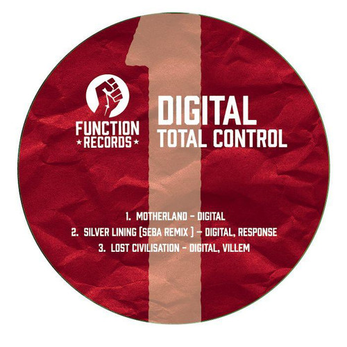 "Digital - Total Control LP Pt. 1 - 12"" Vinyl"