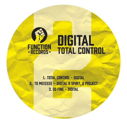 "Digital - Total Control LP Pt. 2 - 12"" Vinyl"