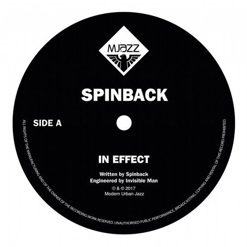 "MJazz Classics 2 - In Effect/ Divine Inspiration - Spinback and Windmill - 12"" Vinyl"
