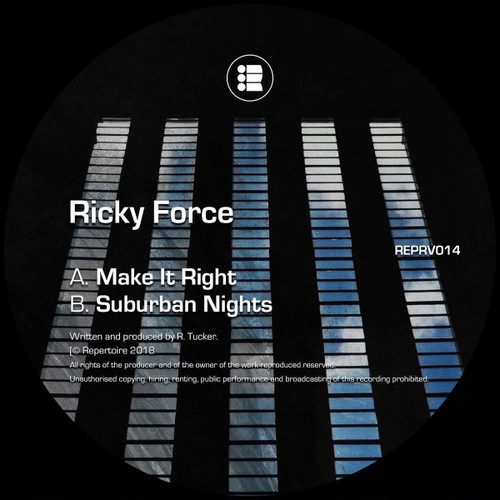 Ricky Force - Make It Right / Suburban Nights