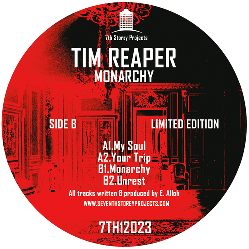 "Tim Reaper - Monarchy - 12"" Vinyl"