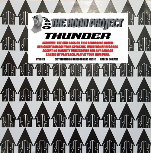 "Rood Project - Thunder - White House Records - 12"" Vinyl"
