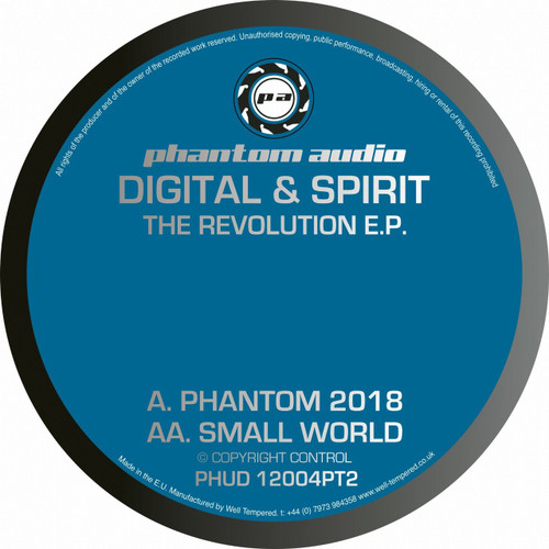 "Digital & Spirit - The Revolution EP Pt. 2 - 12"" Vinyl"