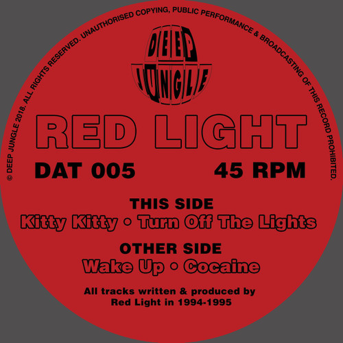 "Red Light - Wake Up - Deep Jungle - 12"" Vinyl"